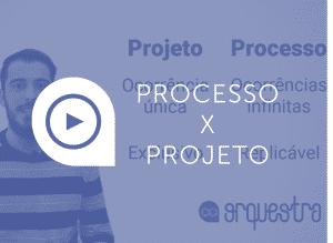 processo versus projeto