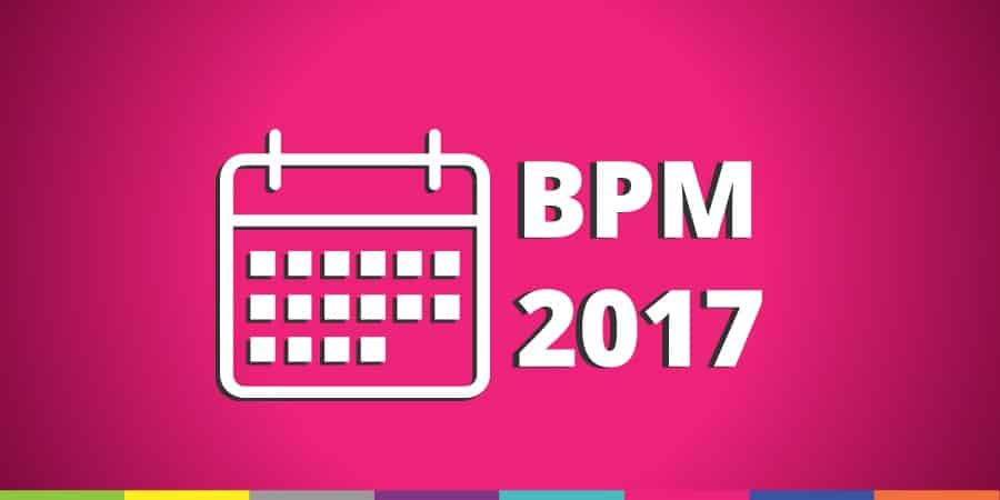 Save the Date - Eventos de BPM ao Redor do Mundo em 2017