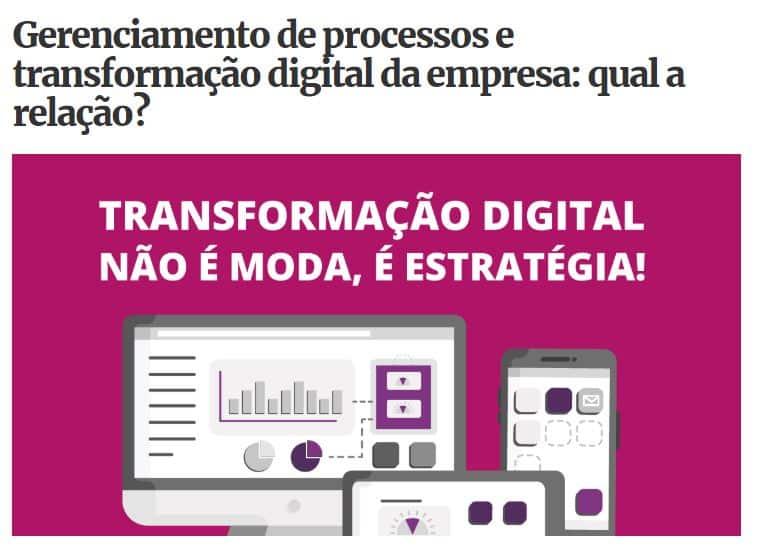 Transformação digital da empresa