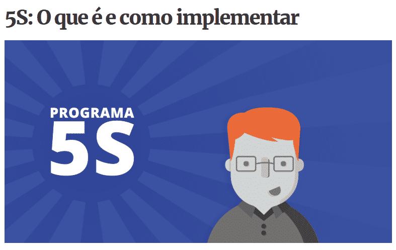 O qué e como implementar o programa 5S