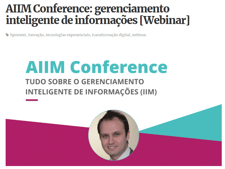 Webinar AIIM Conference