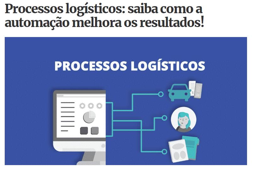 Processos logísticos e automação