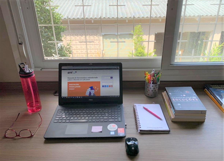Home office - Letícia