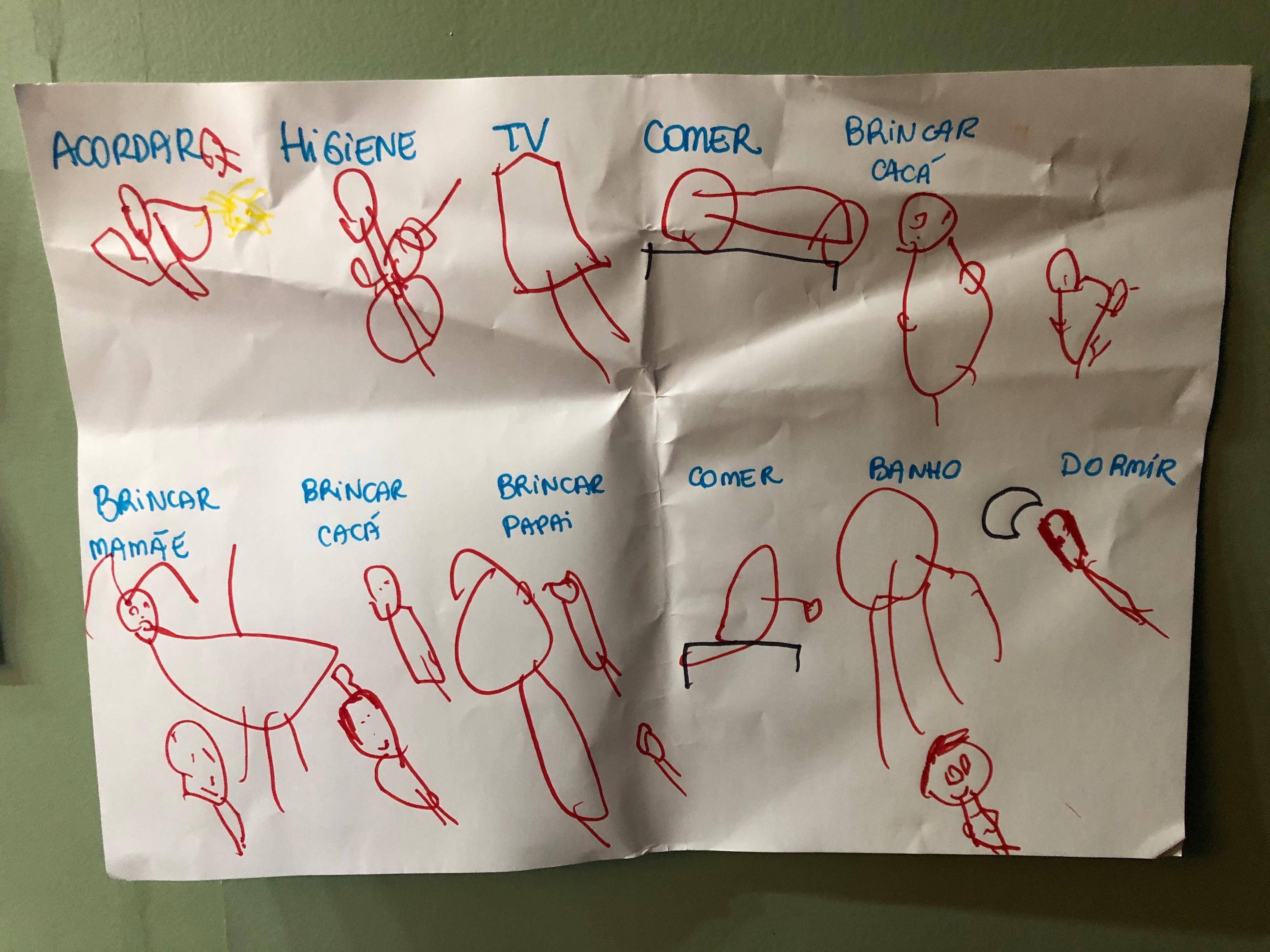 Desenho Manuela