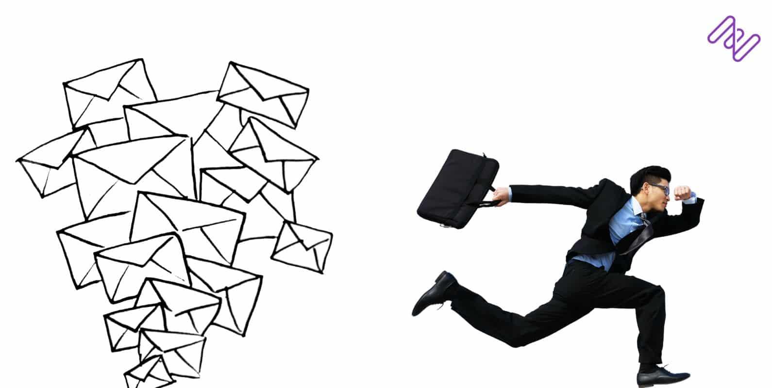 gestão de tarefas por e-mail